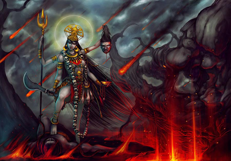 Kalratri Devi Wallpaper
