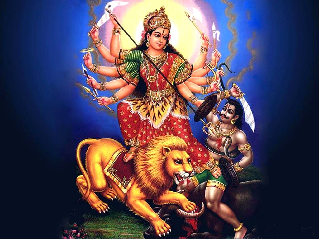 Maa Durga Hd Wallpaper 1080p 2018